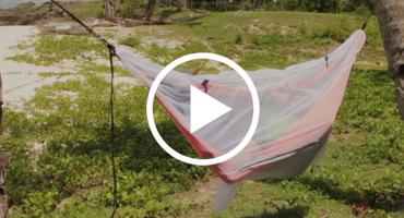 Ticket To The Moon - montaż Mosquito Net 360° - moskitiera