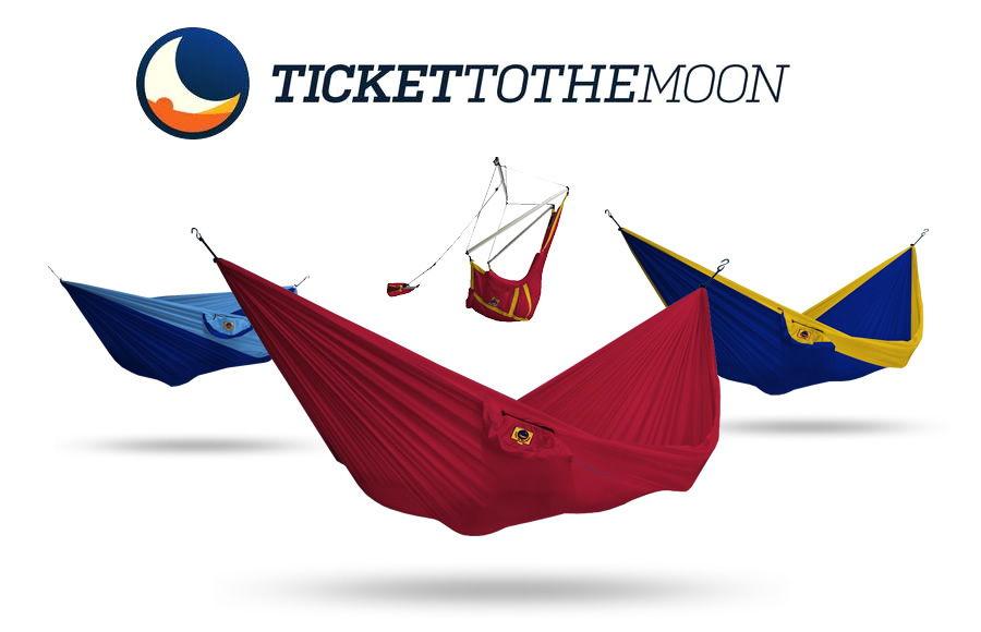 Hamaki turystyczne Ticket To The Moon